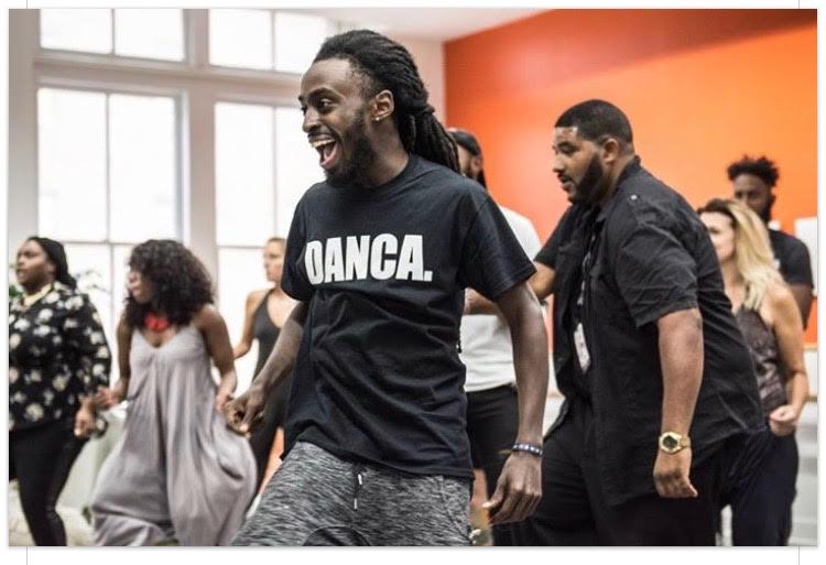 Blacka Di Danca & Just Speak Exec Dir with the Red Bull Fellows